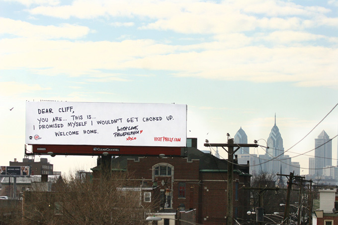 Philiadelphia billboard gets farklempt cover Cliff Lee